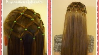 Elastic Tree Hairstyle, Christmas Hairstyles