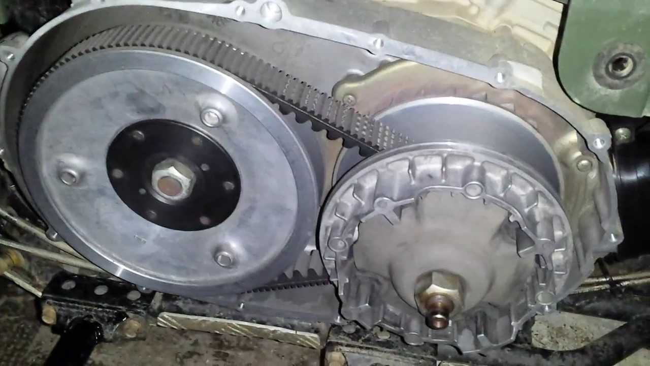 How an Arctic Cat 366 clutch Works
