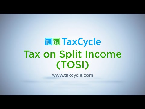 Tax On Split Income (TOSI) - March 13, 2019
