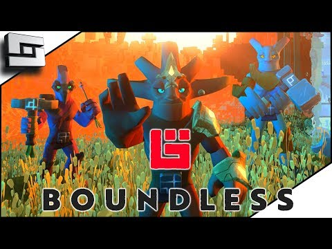 BOUNDLESS! First Look! New Voxel Survival Game!