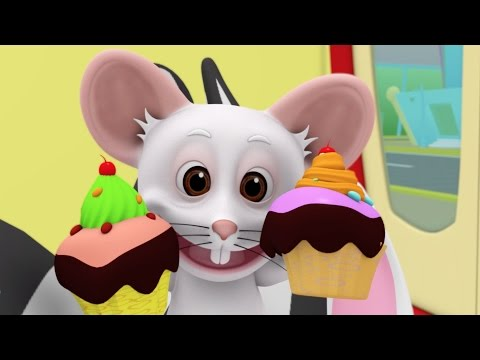 The Muffin Man   Nursery Rhymes   Kids Songs Collection   3D Cartoon Animation and Funny Kids Videos