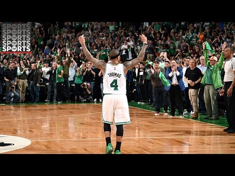 Isaiah Thomas Made Celtics History [53 Points in Big OT Win Over Wizards]