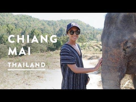 ELEPHANT SANCTUARY CHIANG MAI | Thailand Travel Vlog 011 2017