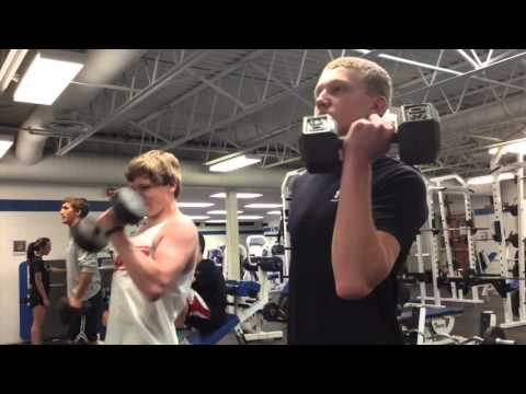 Lincoln East Wrestling Preseason Workout Highlight