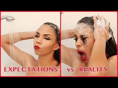 Expectations Vs. Reality: Hair Commercials
