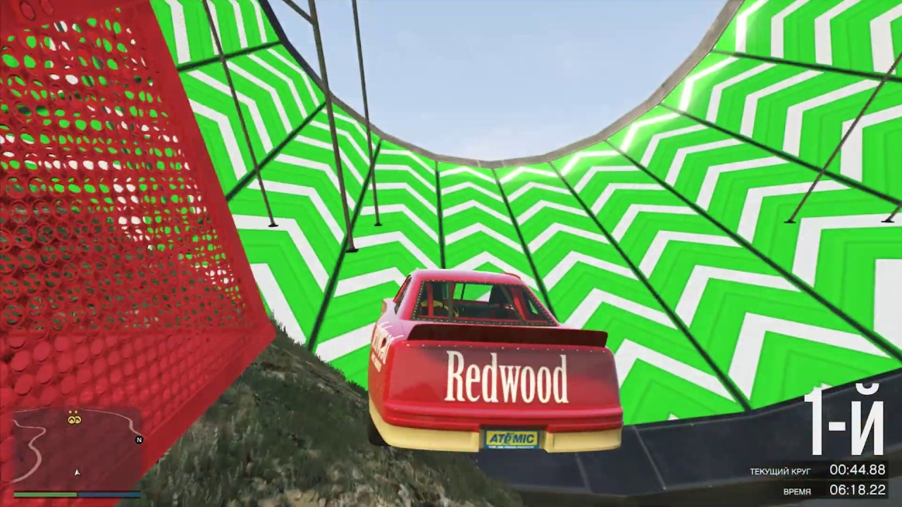 GTA 5 Online -Mind Blowing Race | Who Made This Race is a genius