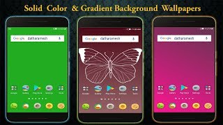Best Solid Color & Gradient Background Wallpapers App For Android 2020