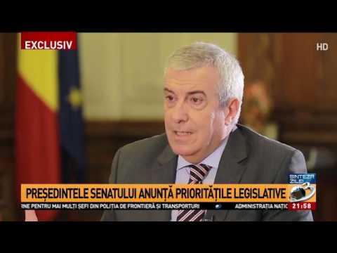 Interviu în exclusivitate cu Călin Popescu Tăriceanu
