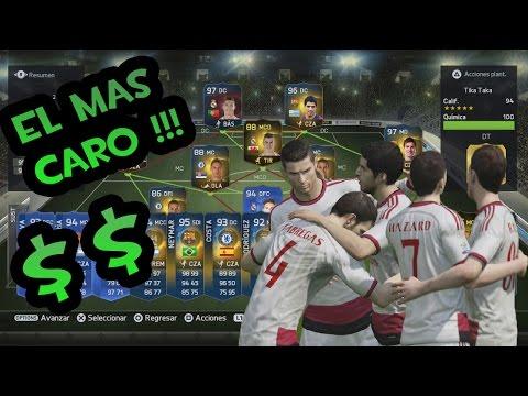 FIFA 15 - La mejor y más cara Plantilla de Ultimate Team - Partidos Épicos