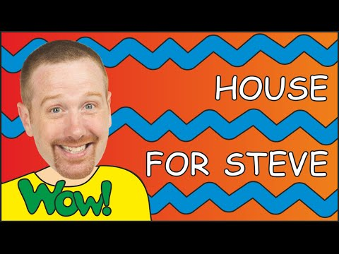Rooms In The House For Steve And Maggie | Colours For Kids | Story For Children