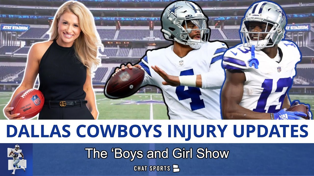 Download Cowboys Injury News On Tyron Smith, DeMarcus Lawrence, Michael Gallup, Dak | The 'Boys And Girl Show