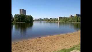 Серебрянка в Пушкино 2012 река и ее виды
