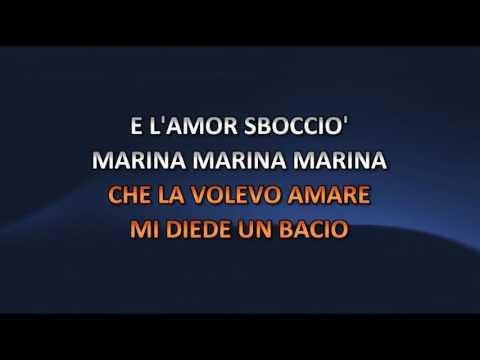 Rocco Granata - Marina (Video karaoke)