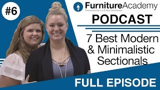7 Best Modern & Minimalistic Sectional Sofas in 2018 PT 1 | EP 6 | Full Episode