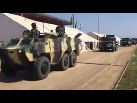 Namibian Army  Combat Vehicles