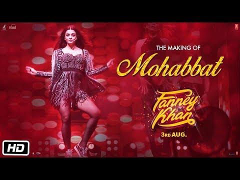 FANNEY KHAN: Making of Mohabbat Song   Aishwarya Rai Bachchan   Sunidhi Chauhan   Tanishk Bagchi