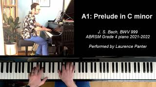 A:1 Prelude in C minor (ABRSM Grade 4 piano 2021-2022)