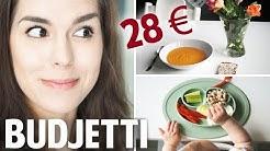 LAPSIPERHEEN 5 PÄIVÄN RUOAT ALLE 30 € 😱 | The Realm of Maria