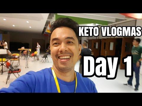 FILIPINO KETO KETO VLOGMAS DAY 1 DEC 1, 2017