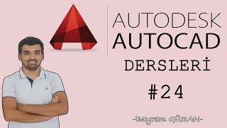 Autocad Eğitimi Ders 24 (Genel Ayarlar) - Bayram GÜRAN