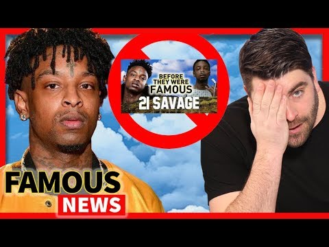 21 Savage Lied To Me... He's From The UK | Famous News