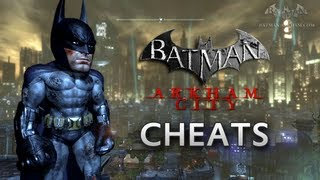Batman: Arkham City - Cheats