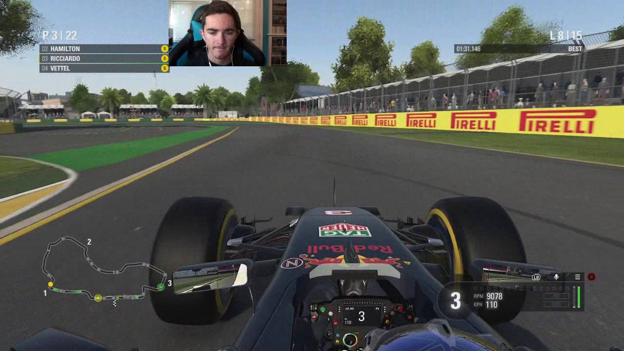 f1 2016 xbox one round 1 australian grand prix youtube. Black Bedroom Furniture Sets. Home Design Ideas