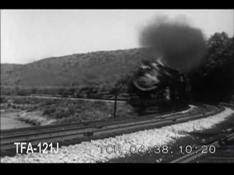 Steam Locomotives In Action on the Baltimore & Ohio, 1954