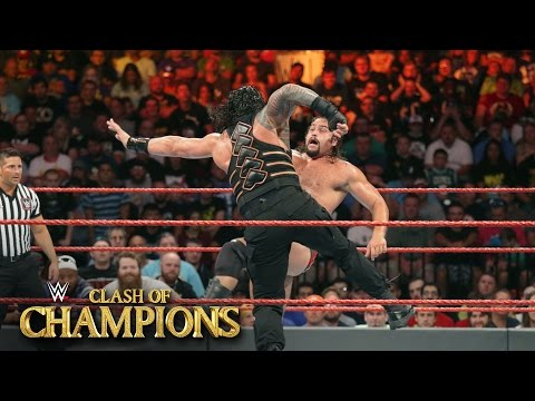 Roman Reigns vs. Rusev - U.S. Title Match: WWE Clash of Champions 2016 on WWE Network