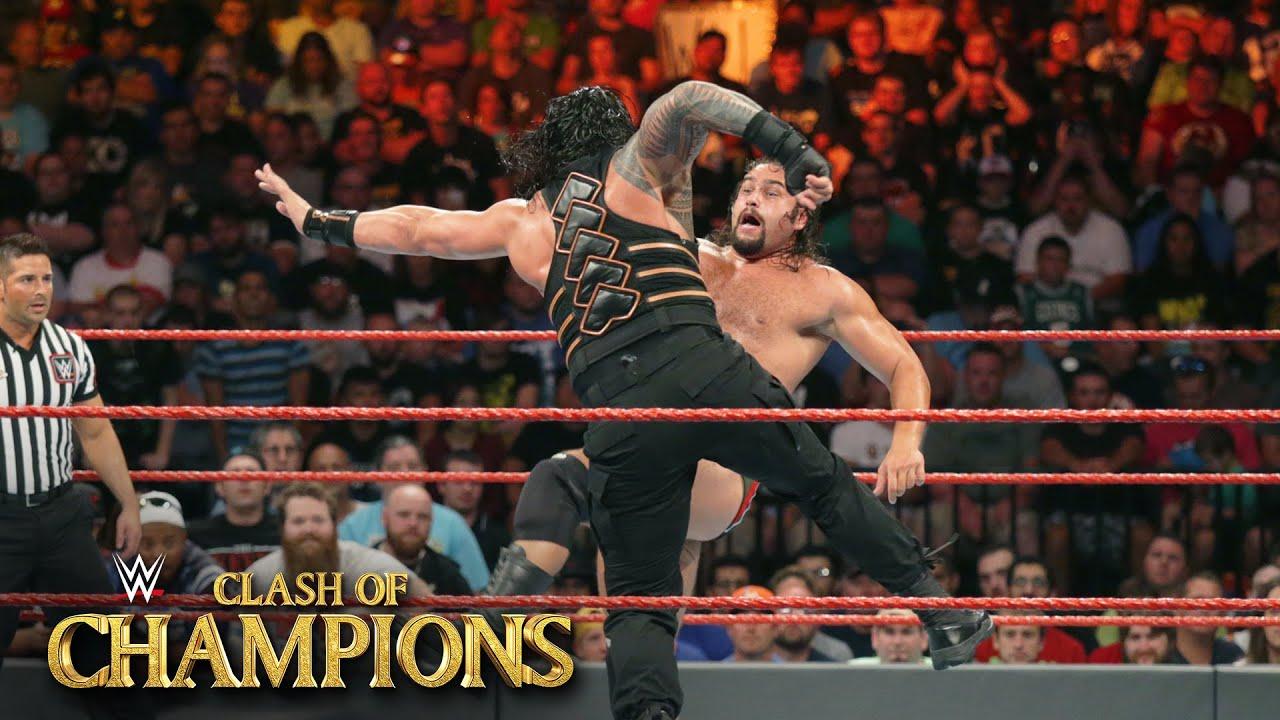 Roman Reigns vs. Rusev – U.S. Title Match WWE Clash of Champions 2016 on WWE Network