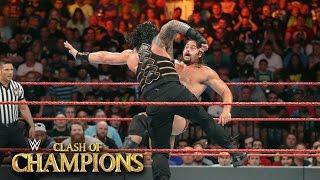 """بالفيديو- نتائج Clash of Champions: رومان راينز يقتنص """"بطولة الولايات المتحدة"""" من روسيف"""