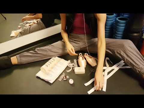 Pointy - jak je przygotować do pracy? Pointeshoes - how to prepare them for work?