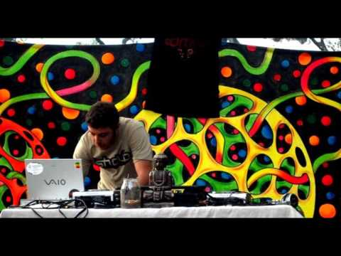 Ishdub live @ panama tribal gathering feb 2013