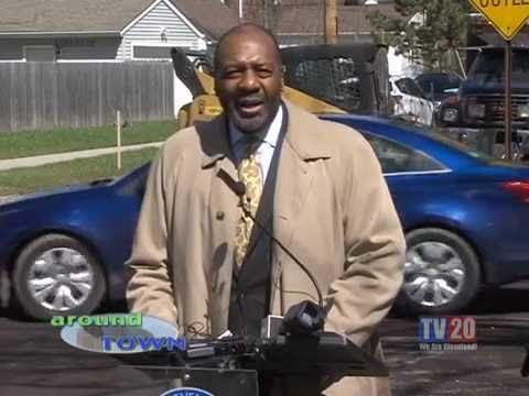 Around Town- Road Repair and Cleveland Police