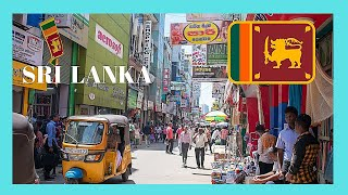 SRI LANKA, the disappointing PETTAH MARKET in COLOMBO