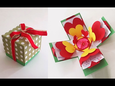 Valentine Special DIY Crafts : How to Make an Exploding Box Card | Love Cards | StylEnrich