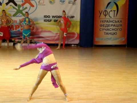 Disco dancer Anna Sirotkina