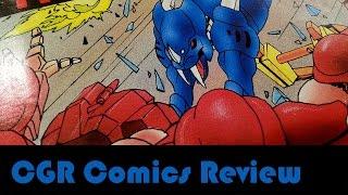CGR Comics - ROBOTECH II: THE SENTINELS #2 comic book review