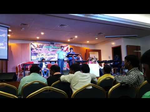 Latest telugu Christian song Naa yesu rajyam sung by  pandu&emmu