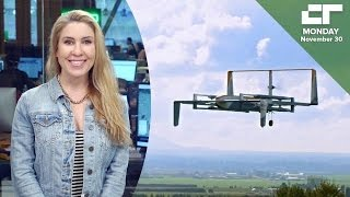 Amazon's New Prime Air Drone Revealed | Crunch Report