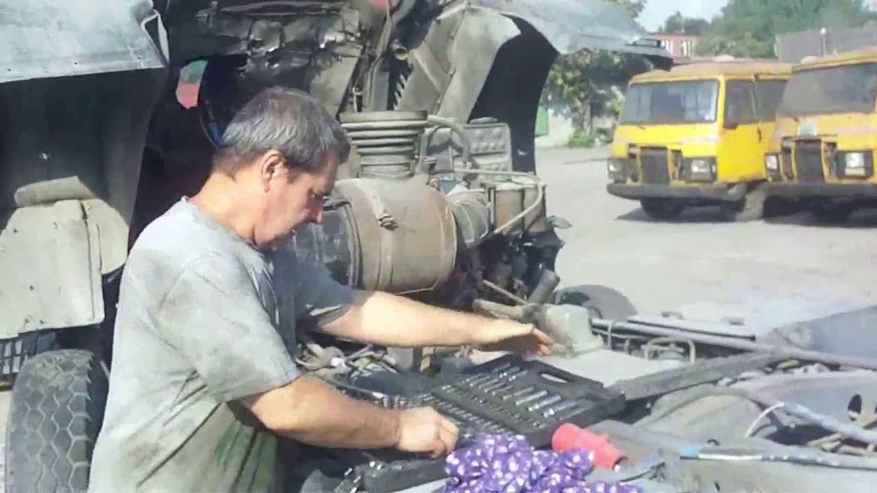 установка ямз236 на дт 75 пошаговая инструкция