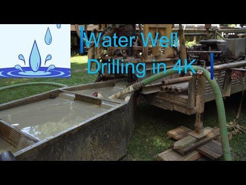 Water Well Drilling in 4K - Highlights