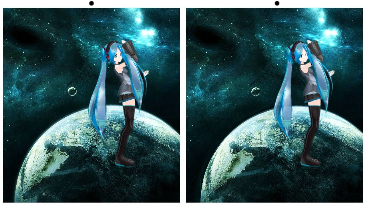 3d without glasses cross eye hd hatsune miku youtube voltagebd Gallery