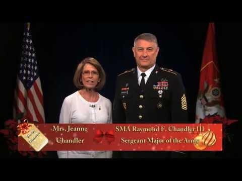 SMA Raymond F Chandler III And Mrs. Jeanne Chandler 2014 Holiday Greeting
