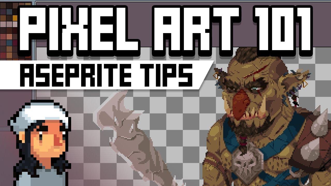 Pixel Art 101: Aseprite Tips