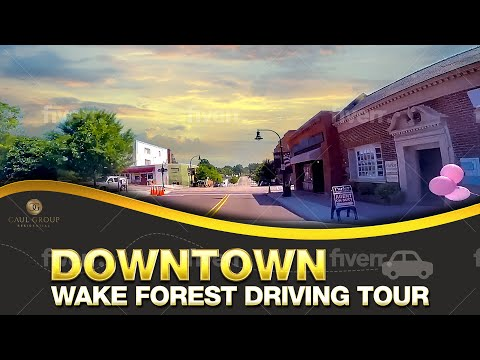 Downtown Wake Forest, NC