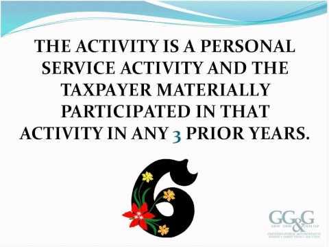 Active vs. Passive Business Ownership Webinar 01/08/13