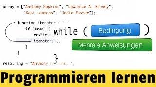 Was sind Schleifen? | Programmieren lernen mit JavaScript #18