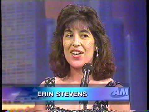 Frankie Manning and Erin Stevens on Singapore TV morning show Nov 1998
