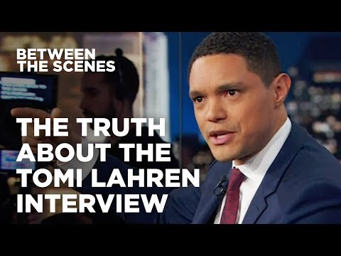 The Truth About The Tomi Lahren Interview - Between the Scenes | The Daily Show